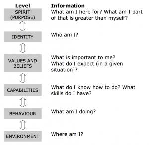 NLP Logical Levels