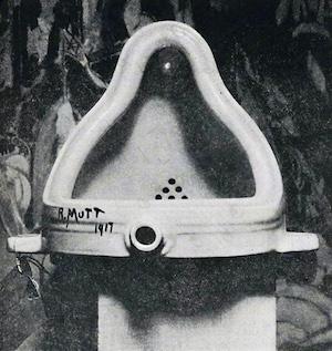 Marcel Duchamp 'Fountain'